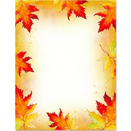 Fall Border Papers