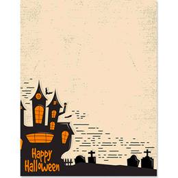 Halloween Border Papers