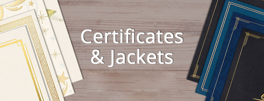 Jackets & Certificates