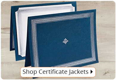 Shop Certificate Jackets