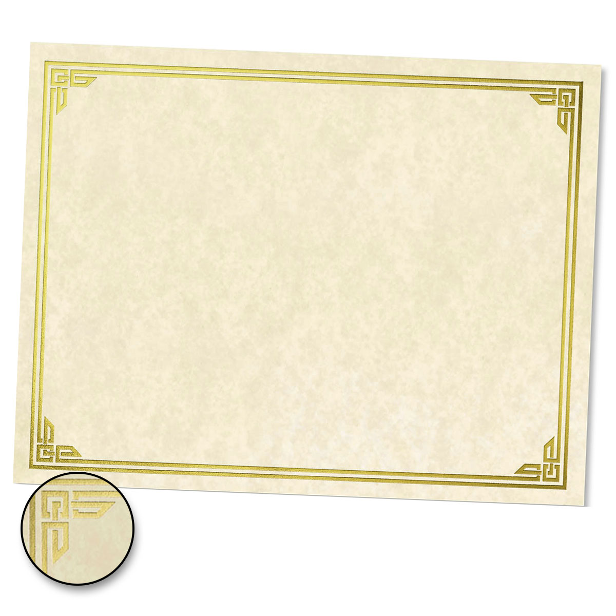 Classic Parchment Specialty Certificates Paper Direct