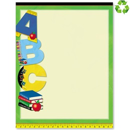 Kids Education Border Papers