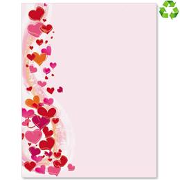 Valentines Day Border Papers