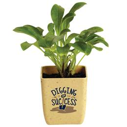 """Digging In for Success"" Appreciation Planter"