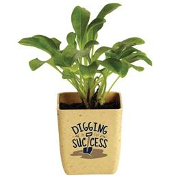 """Digging In for Success"" Appreciation Planter"