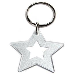 Star Acrylic Key Chain