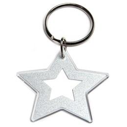 Star Acrylic Key Chain