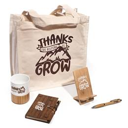 """Thanks for Helping Us Grow"" Appreciation Gift Set"