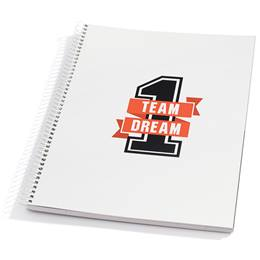 One Team, One Dream Notebook