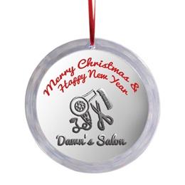 Round Acrylic Ornament