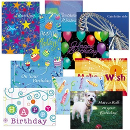 Birthday Card Assortment IV