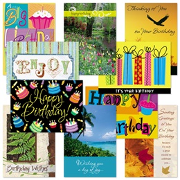 Birthday Card Assortment V