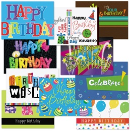 Birthday Card Assortment VI