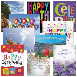 Birthday Card Assortment XIV