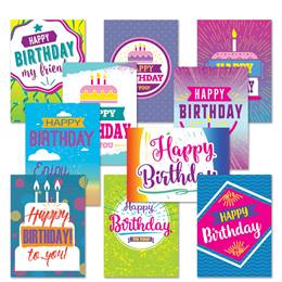 Birthday Card Assortment XV