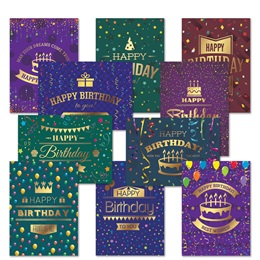 Birthday Card Assortment XVII