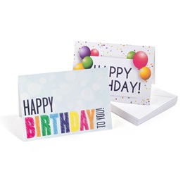 Birthday Celebration Greeting Card Assortment