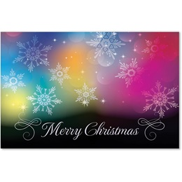 Colorful Christmas Classic Holiday Cards