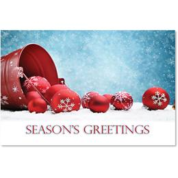 Modern Greeting Classic Holiday Cards