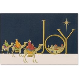 Following Star Holiday Card