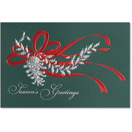 Forest Pine Cone Greeting Card