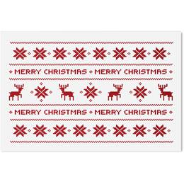 Reindeer Sweater Holiday Greeting Cards