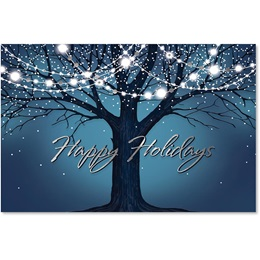 Winter Tree Deluxe Holiday Cards