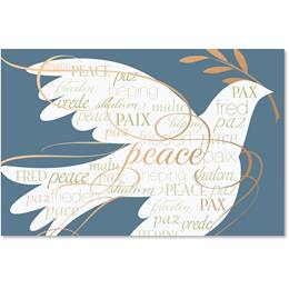 Harmony of Peace Deluxe Holiday Cards