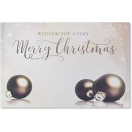 Wishing You A Very Merry Christmas Holiday Greeting Cards