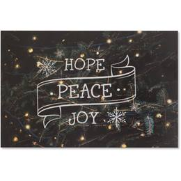 Hope, Peace, and Joy Holiday Greeting Cards