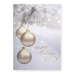 Shining Holiday Classic Greeting Card