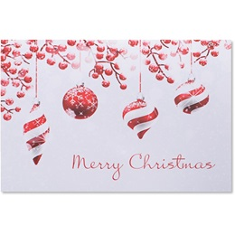 Festive Yuletide Classic Greeting Card