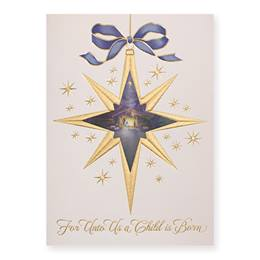 Wondrous Night Deluxe Greeting Card