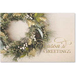 Gorgeous Greenery Deluxe Greeting Card