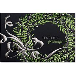 Whimsical Wreath Elite Greeting Card