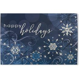 Sparkling Holidays Deluxe Holiday Card
