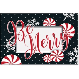 Merry Days of the Season Greeting Card