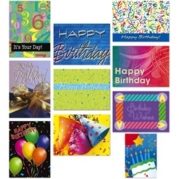 Birthday Card Assortment II