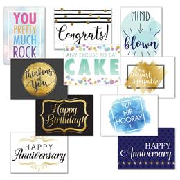 Modern Greeting Card Assortment