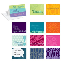 Many Thanks Notecard Assortment