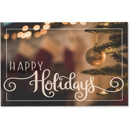 Happy Holiday Ornament Greeting Cards