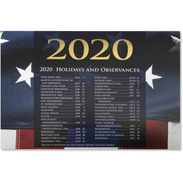 Patriotic Splendor Calendar Cards