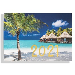 Paradise Reflections Calendar Card