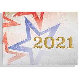 Peace in 2021 Calendar Card