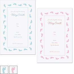 Little Feet Casual Invitations