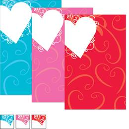 Heart Shaped Wishes Casual Invitations