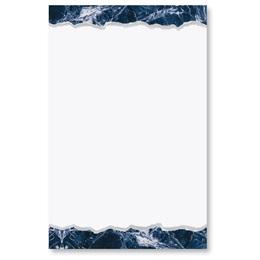 Blue Carrara Casual Invitations