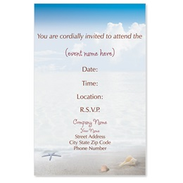 Ripples Casual Invitations