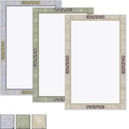 Earthtone Tiles Casual Invitations