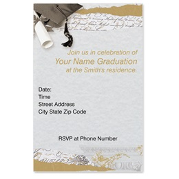 Baccalaureate Casual Invitations
